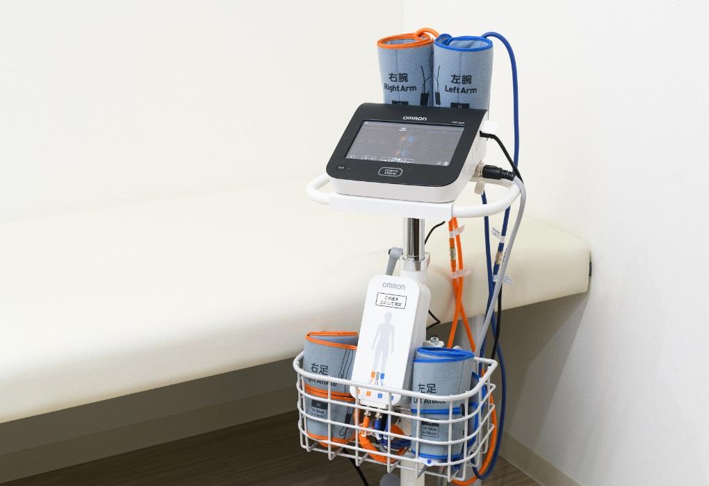 脈波伝播速度(PWV)・足関節上腕血圧比(ABI)の写真